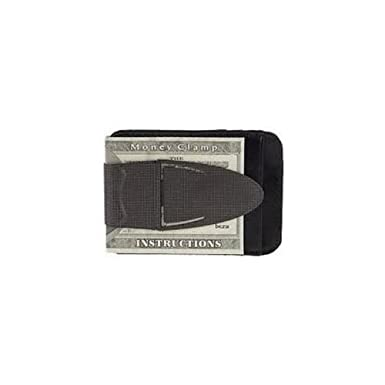designer wallet with money clip cjai  Black Mesh Geneva Money Clamp w/leather wallet--Designer Series w/RFID