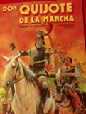 Image of Don Quijote de la Mancha by Miguel de Cervantes : An intermediate textbook (Spanish and English Edition)