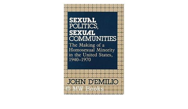 Demilio sexual politics sexual communities