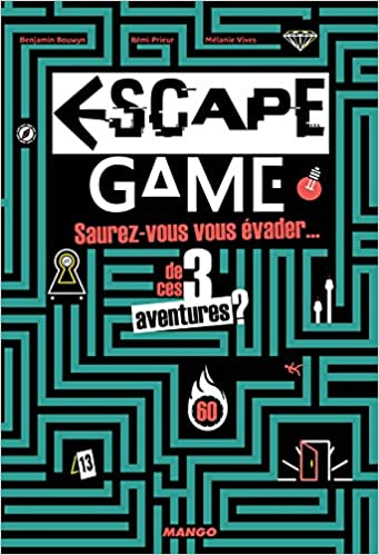 Amazon Fr Escape Game Benjamin Bouwyn Remi Prieur