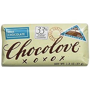 Chocolove Pure Milk Chocolate Mini Bar, 1.3000-ounces (Pack of 12)