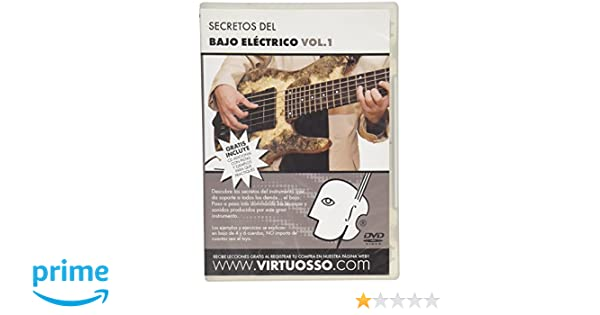 Amazon.com: Virtuosso Electric Bass Method Vol.1 (Curso De Bajo Eléctrico Vol.1) SPANISH ONLY: Musical Instruments