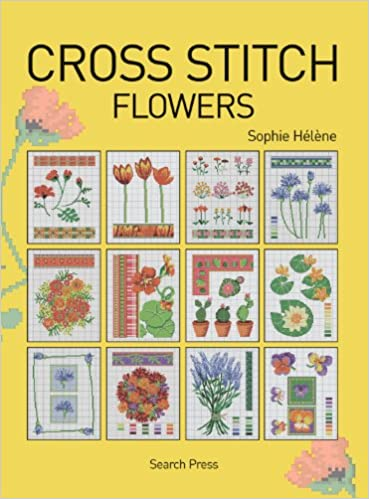Herbs Tulips Apples Flowers /& Garden Cross Stitch Patterns
