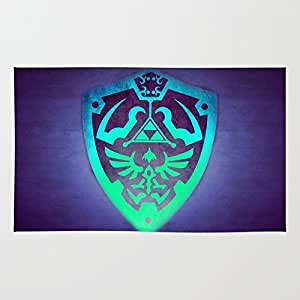 Society6 Zelda Shield Rug 4' x 6'