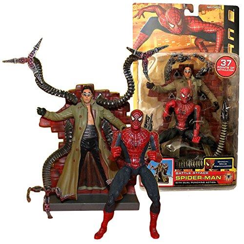 Toy Biz Year 2004 Marvel Spider-Man 2 Movie Series 6 Inch Ta