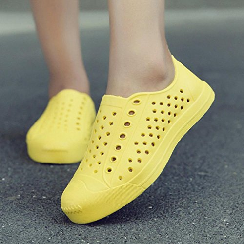 Doux De Les Chaussures Jaune Glissent Les Chaussures Hommes Loisirs Flats Des De Classiques Sandales Fainéants Femmes Occasionnels Plage Unisexe Paresseux Transer Sur 0ZXxw0