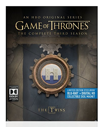 Blu-ray : Game Of Thrones: The Complete Third Season (Boxed Set, Full Frame, Steelbook, Ultraviolet Digital Copy, AC-3)