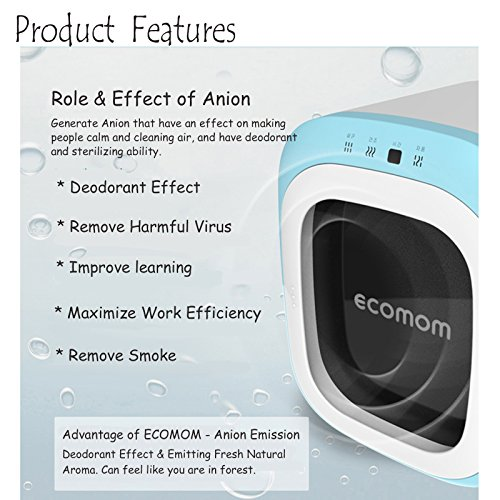 ECOMOM ECO-22 Baby Bottle Multi Anion Sterilizer Ultraviolet Deodorant 220V (Blue) by ECOMOM (Image #4)