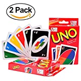 H&W 2 Pack UNO Card Games (WO2-Z1)