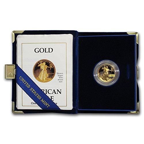 (1986 - Present 1/4 oz Proof Gold American Eagle (Random Year, w/Box & COA) Gold Brilliant Uncirculated)
