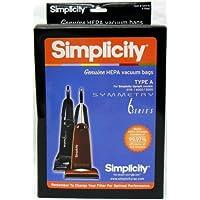 Simplicity Type A HEPA Vacuum Cleaner Bags Pack