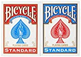 Bicycle Standard Playing Cards 4 Pack