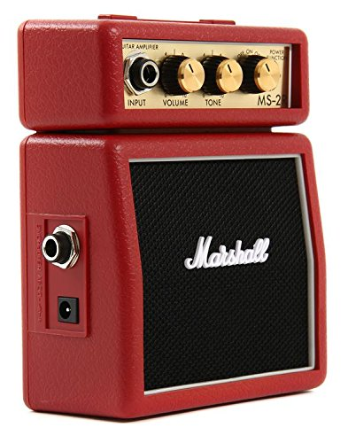 Marshall Mini Stack Series MS-2R Micro Guitar Amplifier - Marshall Amp Case