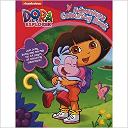 Dora Colouring Book
