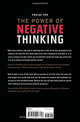 The Power of Negative Thinking: An Unconventional Approach