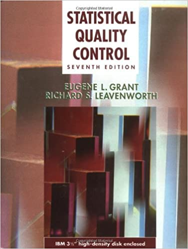 Statistical Quality Control McGraw Hill Series In Industrial Engineering And Management 7th Edition