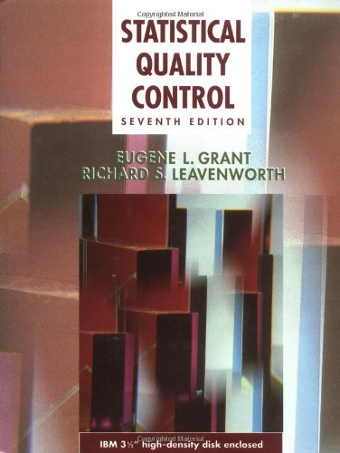 Statistical Quality Control (McGraw-Hill Series in Industrial Engineering and Management)