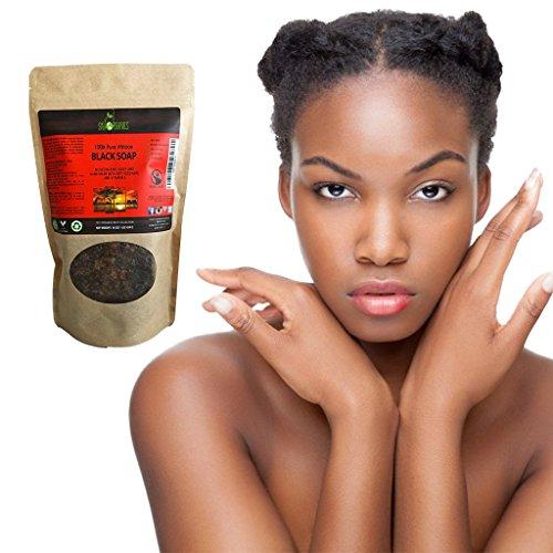 Organic African Black Soap 454g Block Raw Organic Soap