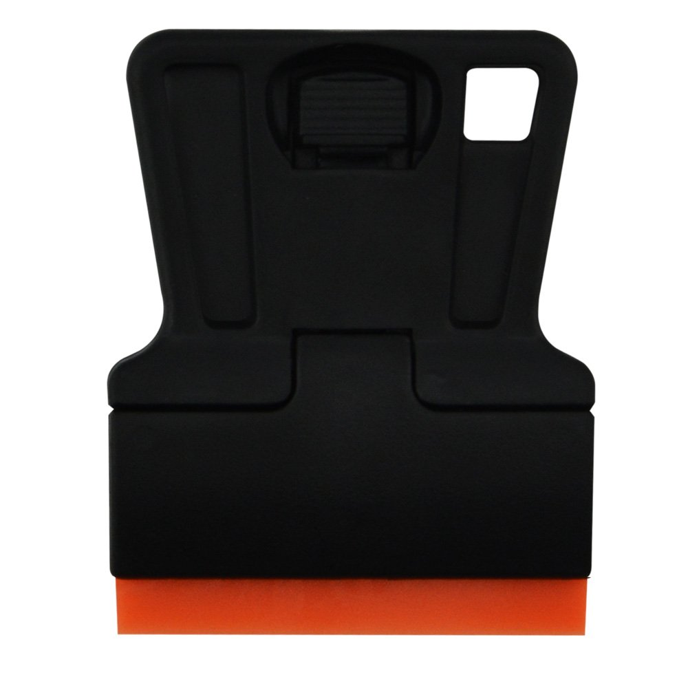 FOSHIO Car Wrap Application Kit include 4 Inch Film Squeegees, Wool squeegee, Vinyl Cutters, Tint Magnet holders, 3 Kinds of Squeegee Felts, Gloves by FOSHIO (Image #8)