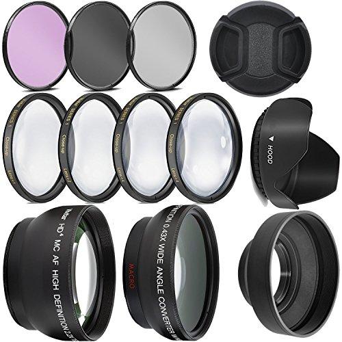 kit de filtros con Gran angular etc para Canon rebe T3 t5