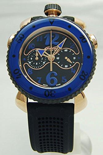 [ガガミラノ]GaGa MILANO / 腕時計 / クロノ スポーツ 45mm ゴールド プレート / 7011.01 / メンズ [並行輸入品] B01DU51TYW