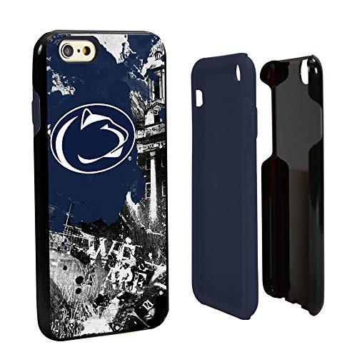 Guard Dog Penn State Nittany Lions Paulson Designs Spirit Hybrid Case for iPhone 6 / 6s with Guard Glass Screen Protector from Guard Dog