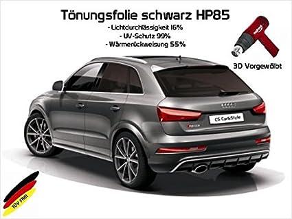 hellschwarz HP 65 Lichtdurchl/ässigkeit 35/% W/ärmer/ückweisung 45/% Passgenaue T/önungsfolien 3 D Heckscheibenfolie 3D vorgew/ölbt kompatibel mit BMW 3er F31 Touring Bj 08//12-08//19