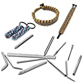 SENHAI 12 Pack Stainless Steel Paracord Needle with