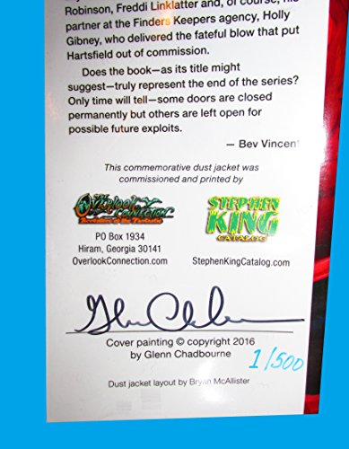 STEPHEN KING NEW COVER SERIES No. 14 END OF WATCH - 1 / 500 (Artist Signed, Cover only)