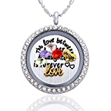 Gifts-for-Mom-The-Love-Between-a-Mother-Daughter-is-Forever-Mothers-Day-Necklace-Floating-Charm-Living-Memory-Lockets-Pendant