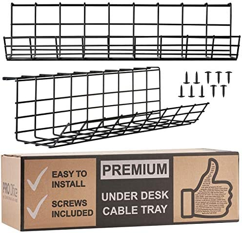 Under Desk Cable Management Tray product image