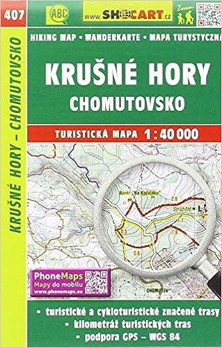Wanderkarte Tschechien Krusne Hory Chomutovsko 1 40 000