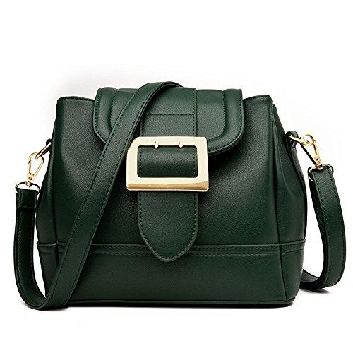 WenL Nuevo Bolso De Hombro De Las Señoras Messenger Bag,Green Green