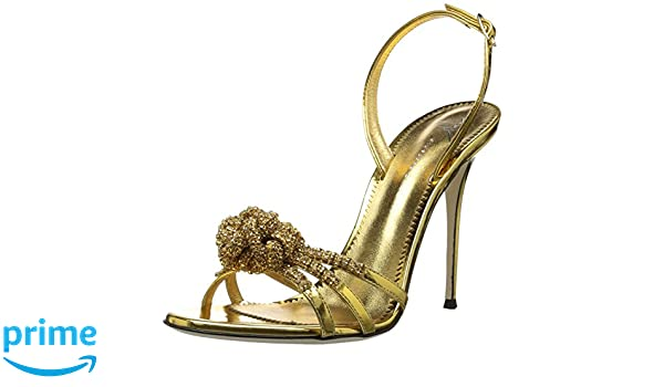 Giuseppe Zanotti Womens E800052 E800052 Gold Size: 6: Amazon