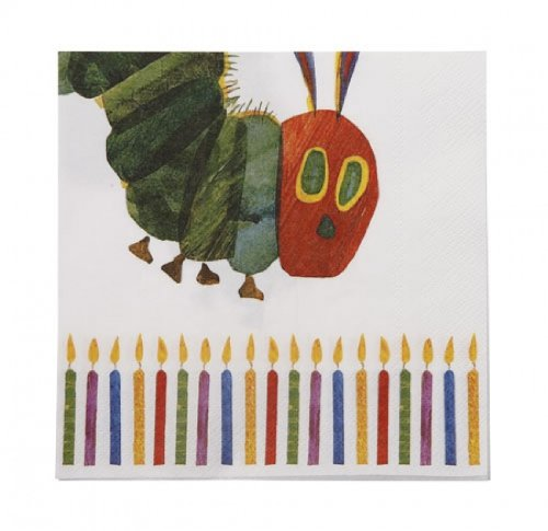 Hungry Caterpillar - Napkin (Pk 20) for Disposable Party Tableware ToyCentre