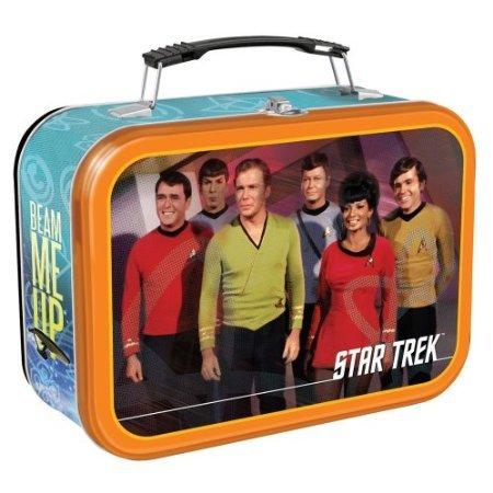 Star Trek Large Tin (Vandor 80070 Star Trek Large Tin Tote, Multicolored)
