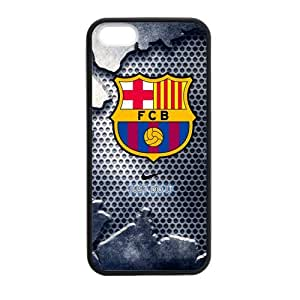 FC Barcelona Cool Design iPhone 5 5s Cell Phone Cases Cover Popular Gifts(Laster Technology)