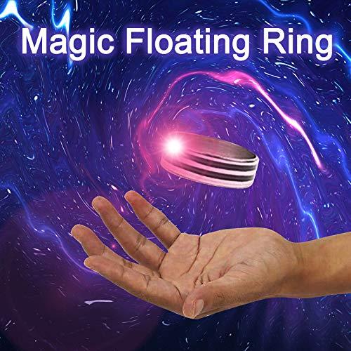 HONGFUTONG Anillo Flotante m/ágico Trucos de Magia Truco de Magia Invisible Anillos de Mago ilusi/ón de Escenario mentalismo Juguetes m/ágicos Accesorios de Magia Herramientas Anillo de Mago Profesional
