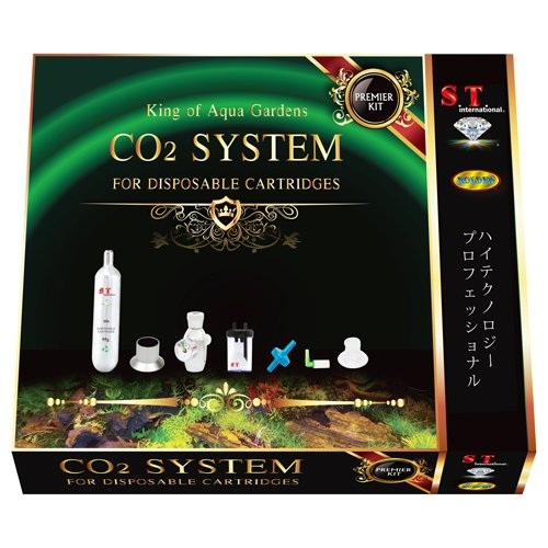 S.T. International CO2 Supply System Starter Kit for Aquarium Plants Aqua Co2 System