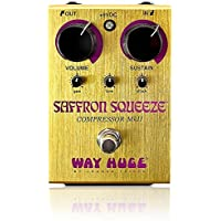 Deals on Way Huge Saffron Squeeze Compressor Guitar Effects Pedal