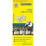 Carte Loiret, Loir-et-Cher Michelin
