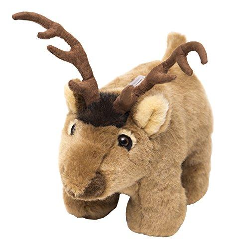 Carstens Plush Elk Kids Coin Bank - Moose Bank