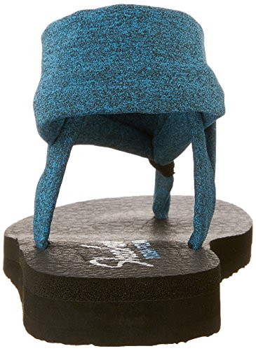 Donna nbsp;Studio Teal Sandali Meditation Kicks Skechers wFqxg7x
