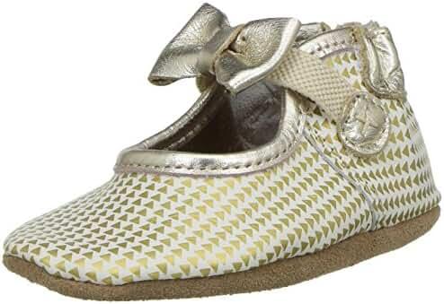 Robeez Kids' Triangle Print Mary Jane Crib Shoe