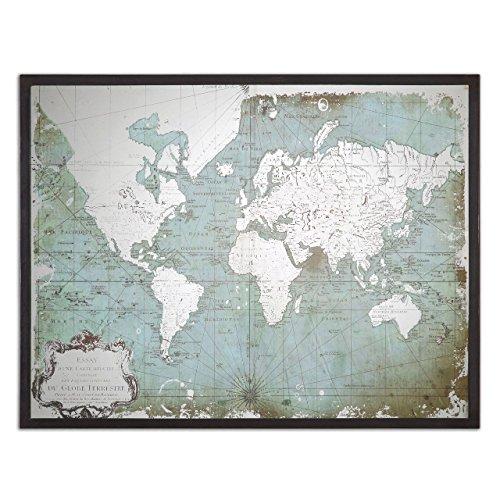 Silver Antique Map - 8