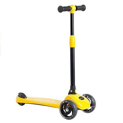 Patinete- Scooter para niños de 2-5 años de Edad 3 Ruedas ...