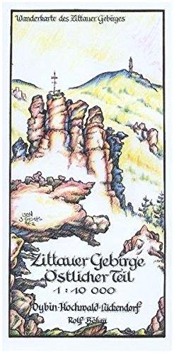 Zittauer Gebirge Östlicher Teil 1:10 000