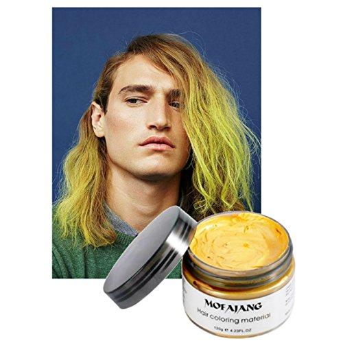 Vakker Mofajiang Hair Wax Color Styling Cream Mud,...