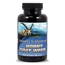 Horny Goat Weed With Maca Root Extract - by Advanta Supplements