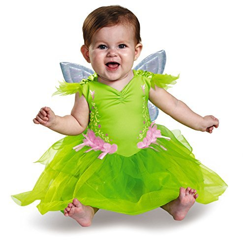 Deluxe Tinker Bell Costume - Baby 12-18